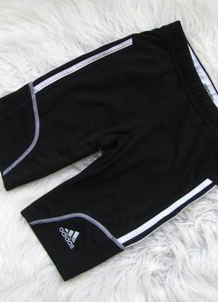 Качественные спортивные  беговые велосипедки компрессионные шорты adidas