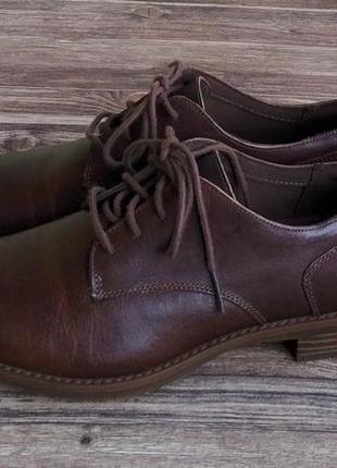 Туфли timberland. размер 38,5. кожа.