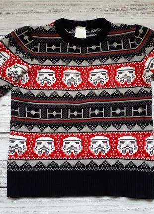 Джемпер свитер star wars c&a