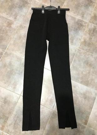 Трикотажные брюки zara