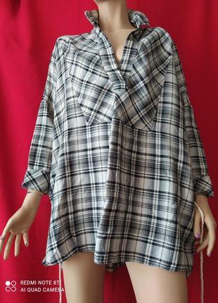 Рубашка туника zara