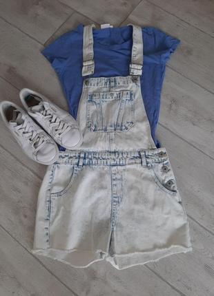 Літній джинсовий камбєз