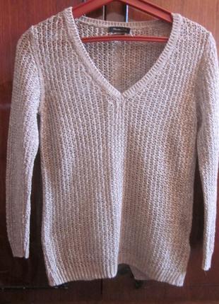 Легкий свитер massimo dutti xs