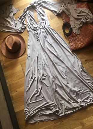 Платье шикарное длинное