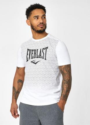 Мужская футболка белая everlast в наличии