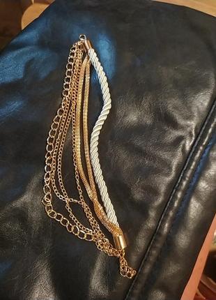 Шикарный многослойный браслет