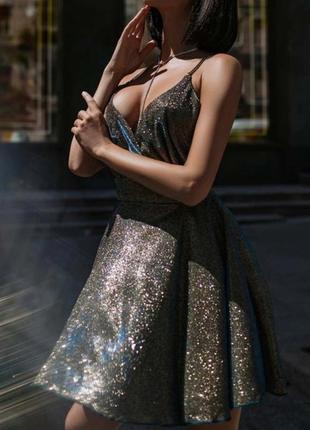 Восхитительное коктейльное платье
