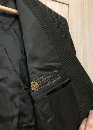 Кашемировый пиджак именитого бренда