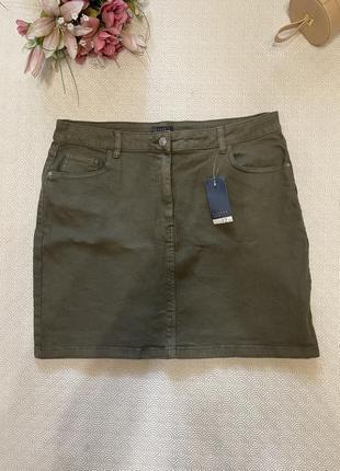 Юбка джинсовая  ххл-хххл