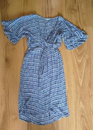 Легчайшее пляжное платье распашонка