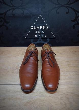 Туфли clarks 44.5p (31cm) india