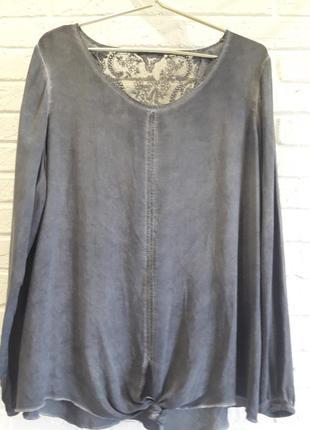 Блуза батал