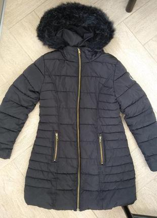 Зимняя куртка некст на 10 лет или рост 140 см