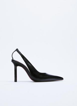 Туфлі zara (устілка 90% - шкіра)