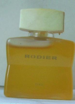Миниатюра - rodier rodier - edt- 5 мл. орігінал. вінтаж