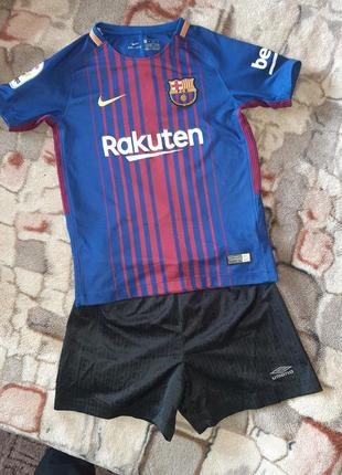 Футбольная форма для мальчика 6-8 лет, рост 122-134 см №10 sem
