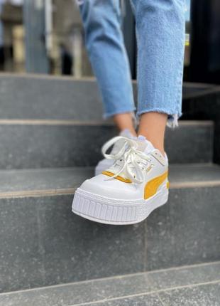 Puma cali 😎 стильные женские кроссовки пума 👟36-40р2 фото