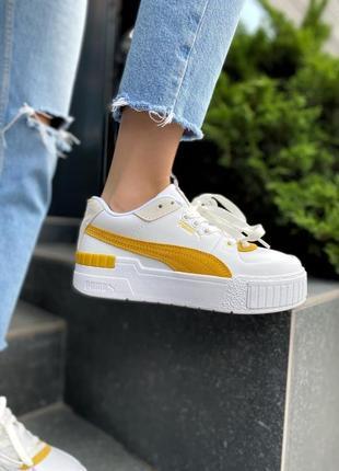 Puma cali 😎 стильные женские кроссовки пума 👟36-40р