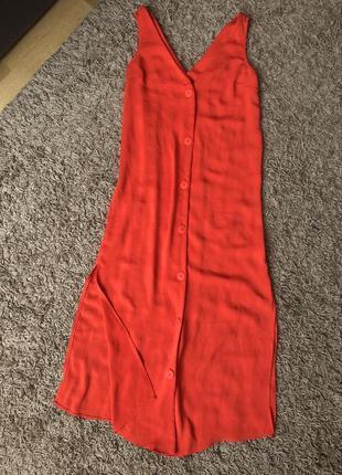 Яскраве плаття сарафан роз 36-38🔥🔥🔥