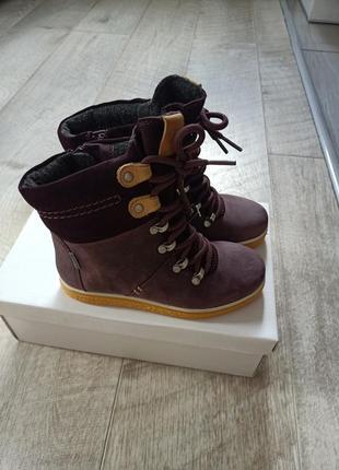 Ботинки ecco crepertey 760142