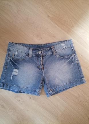 Летняя распродажа ! джинсовые шорты denim co