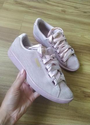 Замшеві кросівки puma