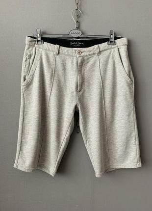 Solid трикотажные мужские шорты.