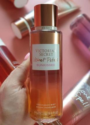 Velvet petals sunkissed , victoria's secret мист, спрей, парфуми, виктория сикрет, косметика