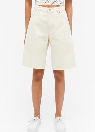 Білі шорти бермуди🤍