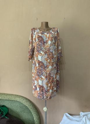 Блуза туника размер 54 56 вискоза хорошо стройнит