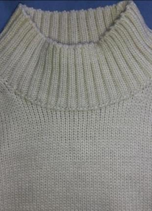 Длинный свитер оверсайз от h&m