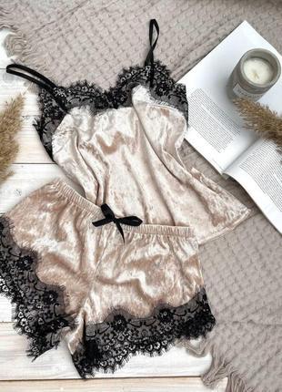 Бархатная пижама