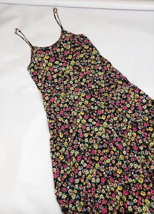 Платье миди вискоза