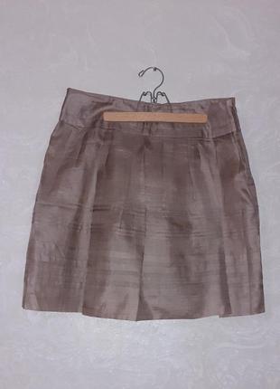 Max & co max mara шелковая юбка мини шелк /размер м-l