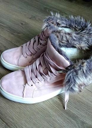 Классные ботинки h&m, размер 37