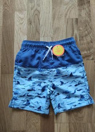 Новые детские плавки шорты для плавания американського бренду