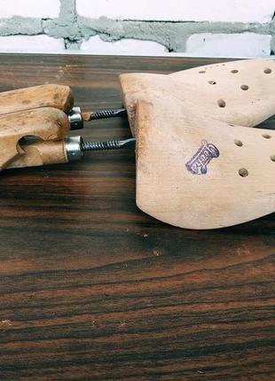 Колодки для обуви. формодержатели для обуви geoha, деревянные...