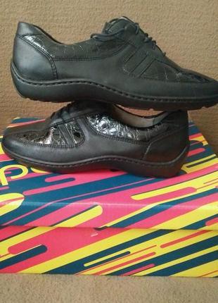 Туфли кожаные.  medicus