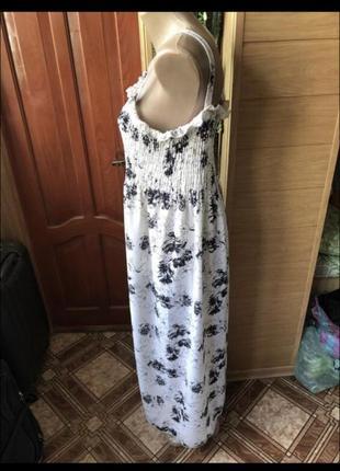 Летнее лёгкое платье сарафан2 фото