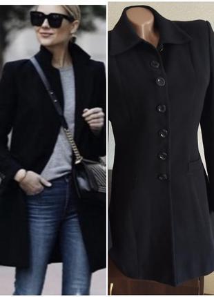 Длинный пиджак сюртук френч