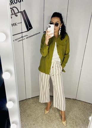 Сорочка кольору хакі бренд h&m нова колекція розмір 34/6 ціна 280 грн 🔥🔥🔥