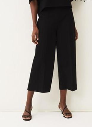Новые укороченные брюки кюлоты со стрелками от next