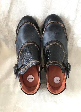 Кожаные туфли мягкие тма оригинал германия качество