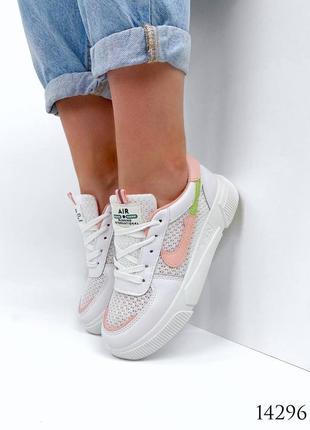 Женские кроссовки с перфорацией6 фото