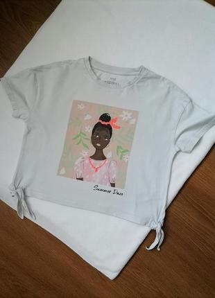 Топ футболка для девочки m&s
