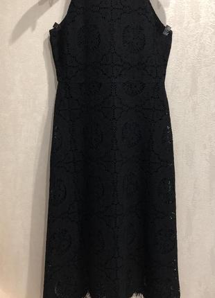Кружевное платье бренда massimo dutti !!