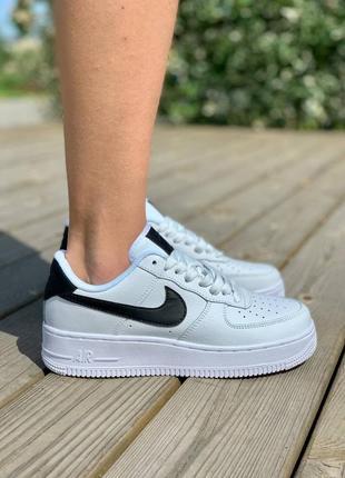 Популярные женские белые кроссовки эйр форс, топ качество