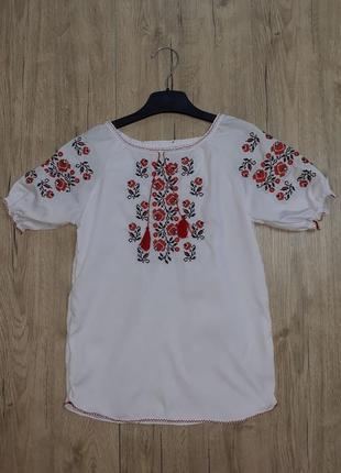 Вышиванка для девочки рр.116-140 beebaby