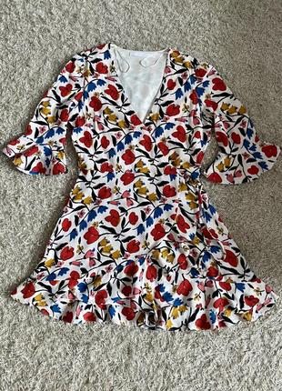 Платье комбинезон zara , ромпер