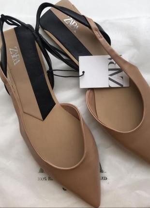 Zara мюли босоножки туфли сабо 39 40 zara